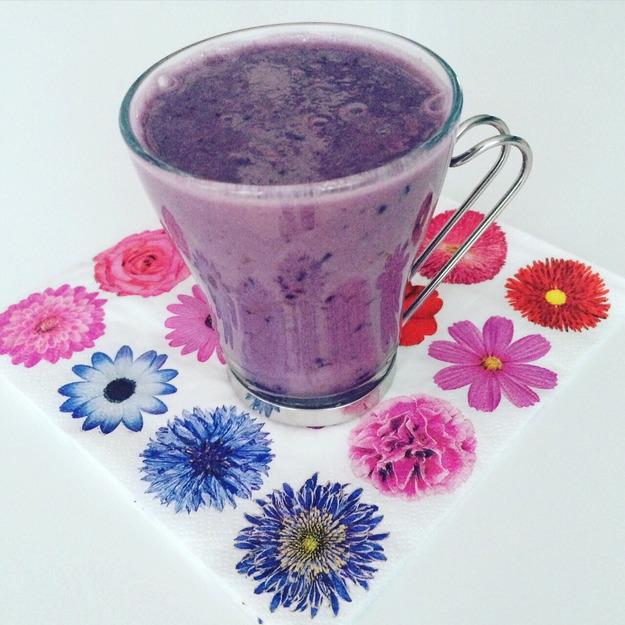 Mobiledző – Receptek – Lila smoothie 1.