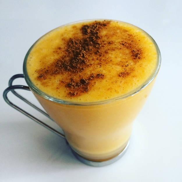 Mobiledző – Receptek – Mézeskalács ízű tökös smoothie