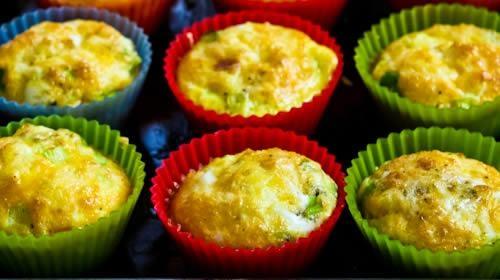 Mobiledző – Receptek – Rántotta-muffin